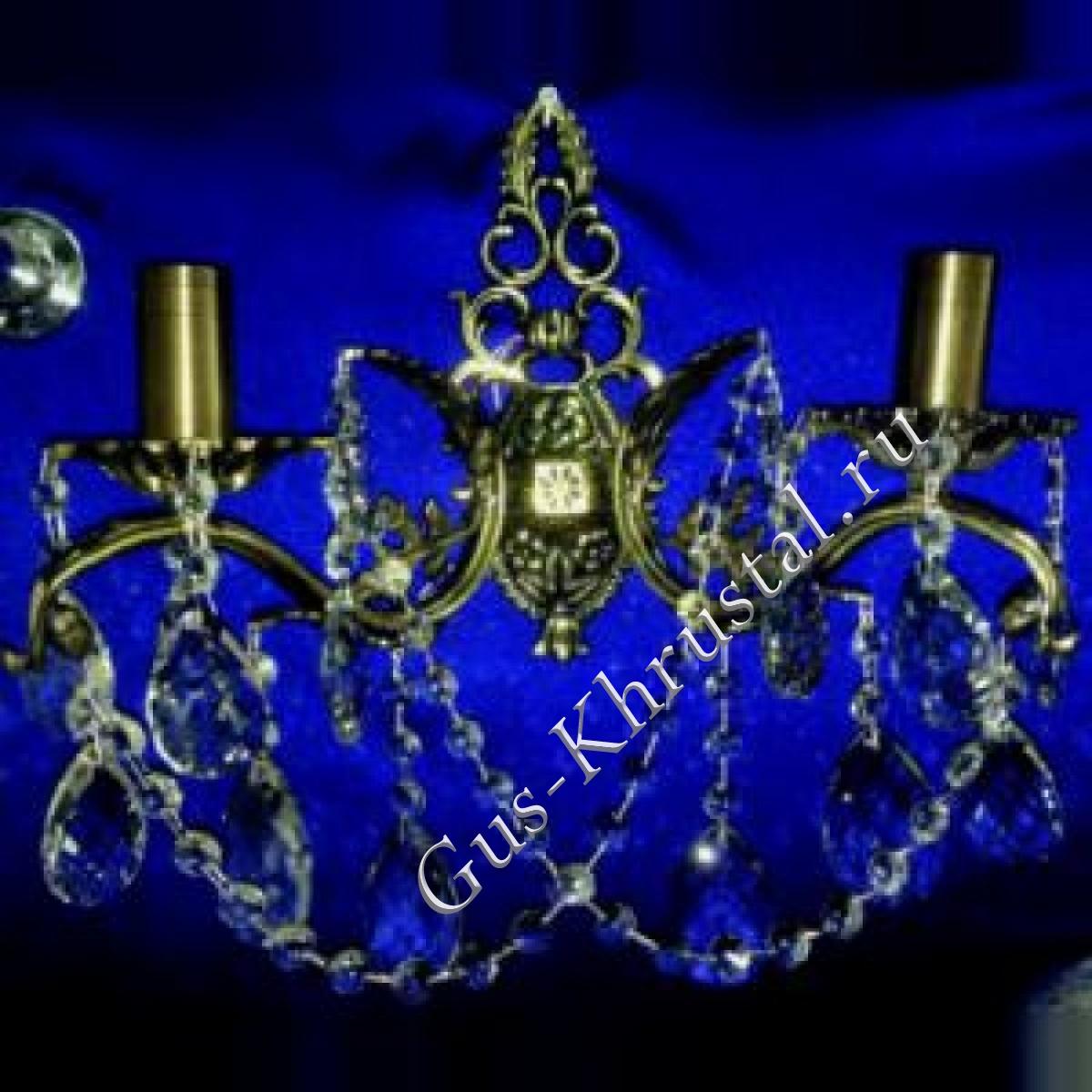 Бра Бронзовая 2 лампы